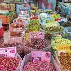 Le marché aux épices de Canton
