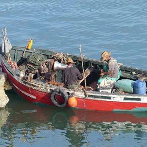 El Jadida - Retour des pêcheurs