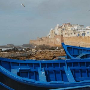 Essaouira - barques de pêche