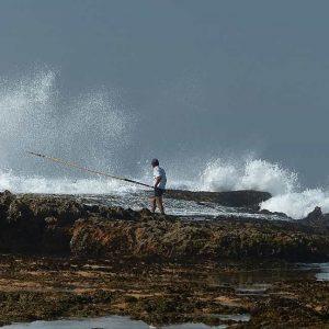 Scène de pêche à Oualidia