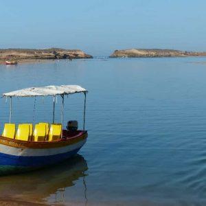Petite embarcation destinée à promener les touristes sur la lagune