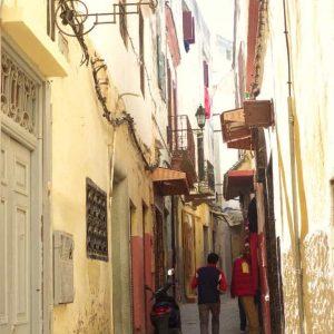 Les petites rues de Tanger