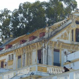 Vieille maison coloniale à Tanger