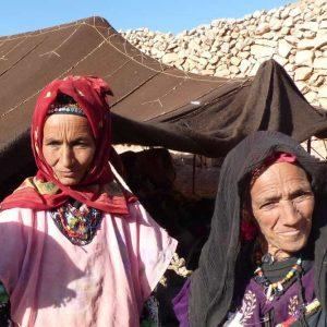L'accueil très chaleureux d'une famille de nomades