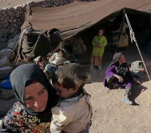 Tinghir - Trek entre Gorges du Todgha et du Dades - Famille nomade (158)