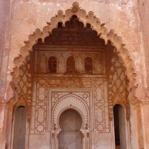 Mosquée de Tin-Mel - Vers le mirhab