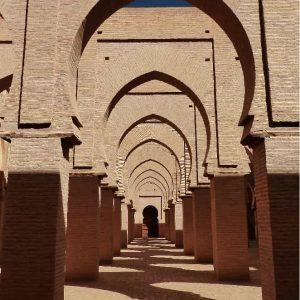 Mosquée de Tin-Mel - La Salle des prières