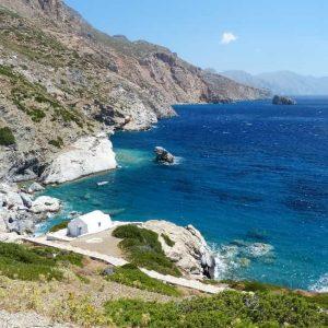 Plage de Agia Anna à Amorgos