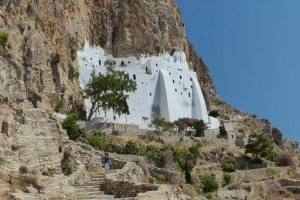 Le monastère de Panagia Chozoviotissa à Amorgos