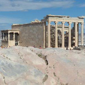 L'Acropole à Athènes (vue d'ensemble)