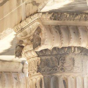Athènes - Le Parthénon - Détail d'un chapiteau