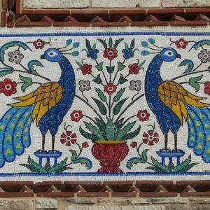 Détail de la cathédrale de la Trinité au Pirée