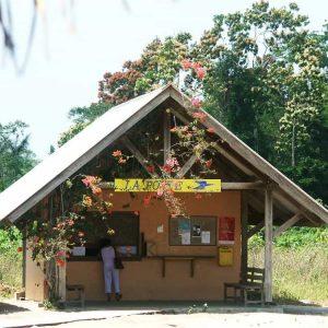 Le bureau de poste d'Awala Yalimapo