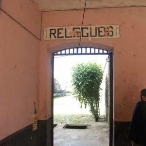 Guyane -  Camp de la Transportation  -  Le quartier des relégués