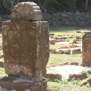Iles du Salut - Le cimetière sur l'île Saint Joseph