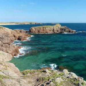 La petite île de Houat dans le Morbihan