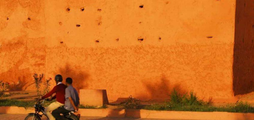 Marrakech - Les murs de la Médina