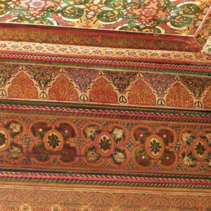 Marrakech-Palais Bahia - Détail d'un plafond