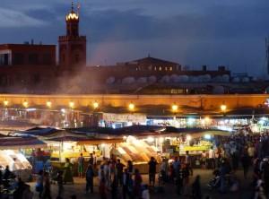 Marrakech - Place Jemma Ef Fna de nuit