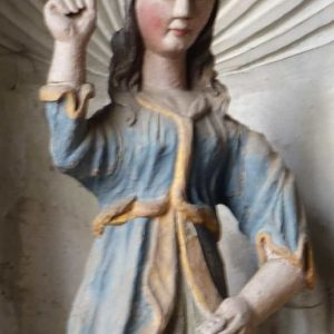 Dans l'église de Rochefort en Terre