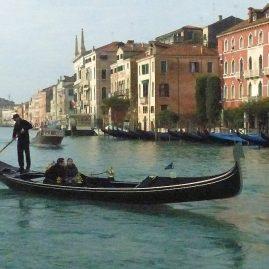 Une gondole à Venise