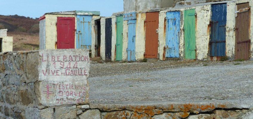 Les cabanes de pêcheurs de Porz Loubous