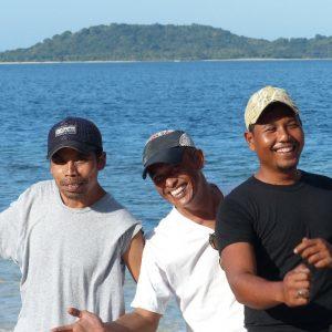 Alan, Didier et Safari à Gili Asahan