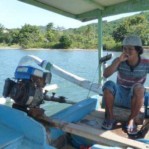 Sur le bateau entre Labuan Poh et Gili Asahan