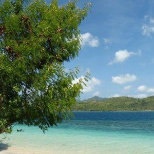 Une plage à Gili Asahan