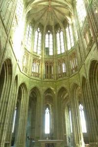 L'église abbatiale a des dimensions dignes d'une cathédrale