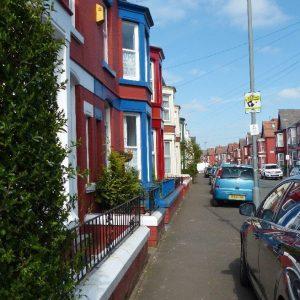 Une rue de Liverpool