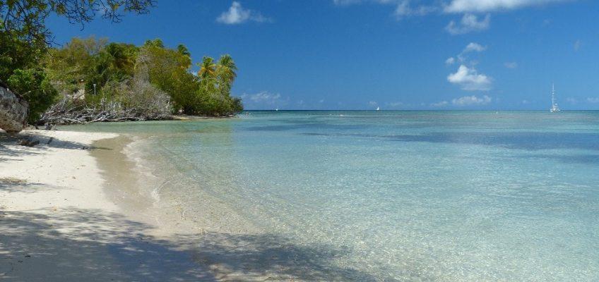 Tour de la presqu'île de Sainte Anne en Martinique