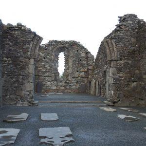 Vestiges de l'abbaye de  Glendalough