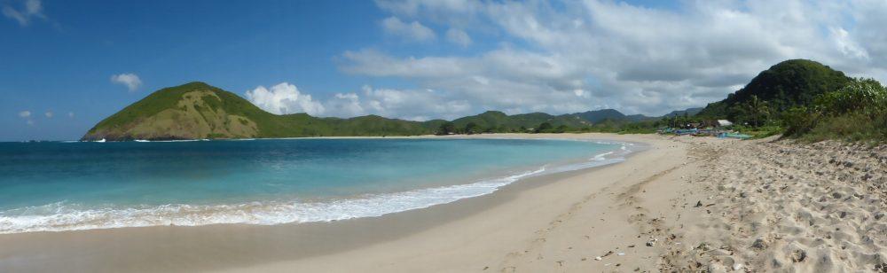 La plage de Selong Blanak près de Kuta Lombok