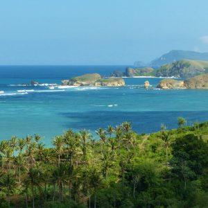 Plage de Aan près de Kuta Lombok