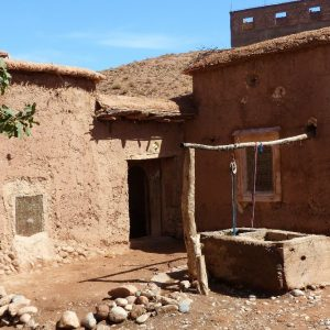 Maison traditionnelle berbère dans la vallée du M'Goun