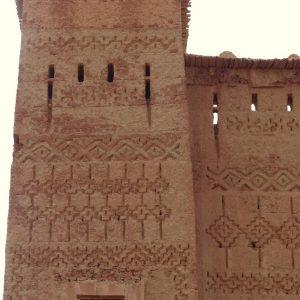 Architecture traditionnelle dans la vallée des 1000 kasbahs