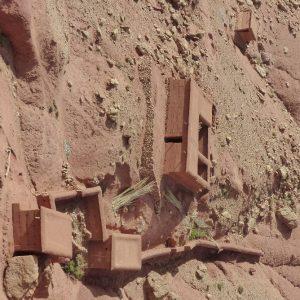 Constructions traditionnelles dans le Haut Atlas