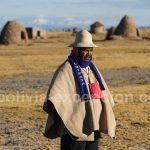 Dans l'Altiplata en Bolivie, à 4000 mètres d'altitude
