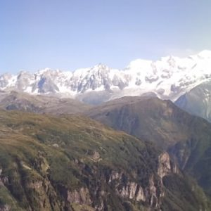 Le dérochoir, dans la réserve naturelle de Passy, en Haute Savoie