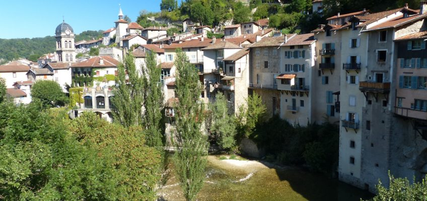 Les maisons suspendues de Pont-en-Royans
