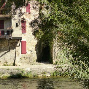 Pont-en-Royans dans le Vercors