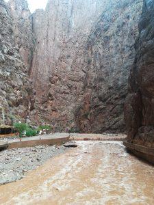 Inondations aux Gorges du Todgha