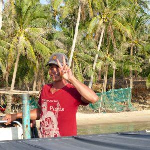 Sung, notre guide et pilote pour les îles situées au sud de Phu Quoc
